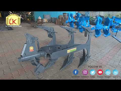 S Model Auto Reversible Plough