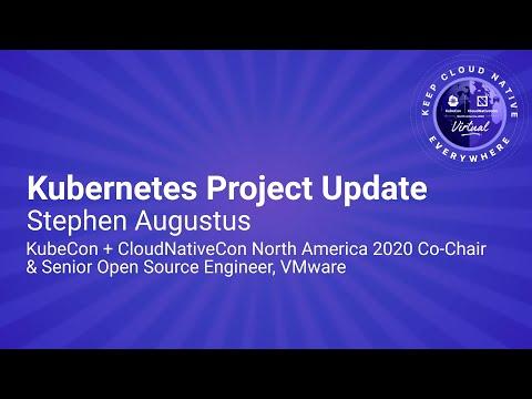Image thumbnail for talk Keynote: Kubernetes Project Update