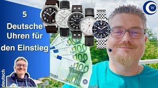Wie Du eine Sammlung aufbauen kannst | 5 deutsche Uhren für den Einstieg