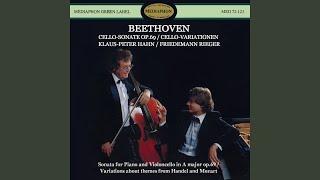 "Friedemann Rieger & Klaus-Peter Hahn - 7 Variations on ""Bei Männern, welche Liebe fühlen"" from ""The Magic Flute"""