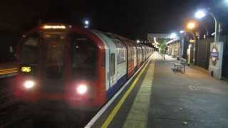 preview picture of video 'Snaresbrook Underground Station - 31/10/2013 - Underground'