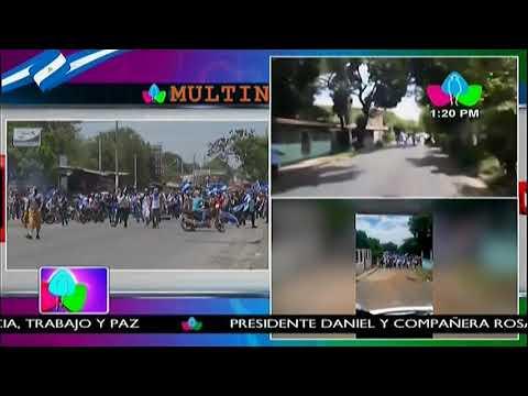 Policía Nacional informa sobre disturbios y agresiones provocadas por grupos mal llamados pacíficos