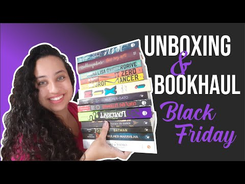 Unboxing & Bookhaul da Black Friday Submarino • Parte 4 final |Karina Nascimento| Paraíso dos Livros