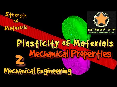 Mechanical properties of material | Plasticity