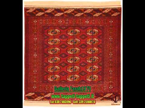 200-1-Tappeti, Quadrati, Persiani-Galleria Farah1970