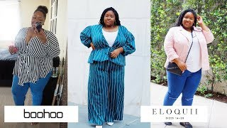 Will It Fit? Boohoo & Eloquii Plus Size Try On Haul