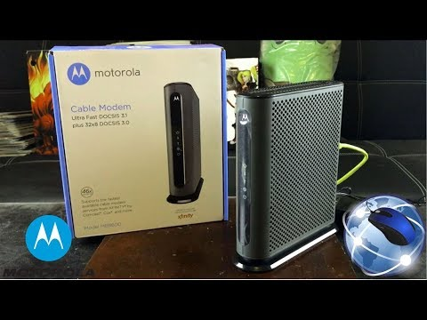 Motorola Ultra Fast DOCSIS 3.1 Cable Modem Review | Model MB8600