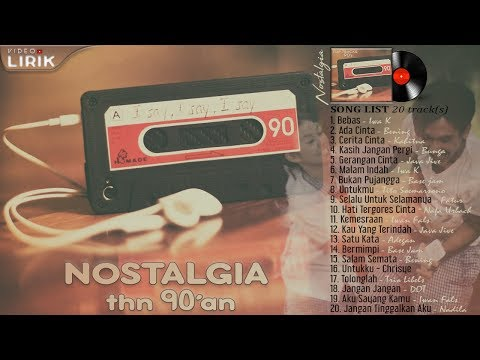 Lagu Yang NgeHITS di Indonesia tahun 90an [ LIRIK ]