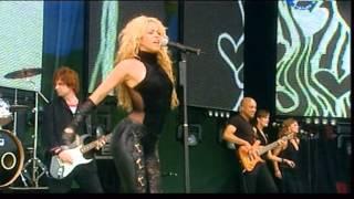Shakira - `` Objection `` (Tango) Live Party Park 2002