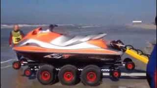 preview picture of video 'Rettungs-Jetski St. Peter-Ording'