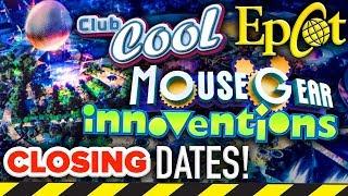 EPCOT OVERHAUL FUTURE WORLD CLOSING DATES! - Disney News