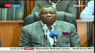 COTU Sec Gen Francis Atwoli insists on patience from the Kenyan citizens as we await IEBC verdict