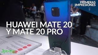 Huawei Mate 20 y Mate 20 Pro, PRIMERAS IMPRESIONES desde Londres