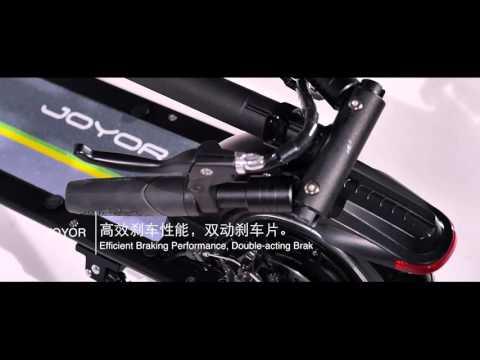 Patinete eléctrico Joyor Y10 - Tienda Motor Verde