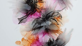 Alcohol Ink And Acrylic Paint Tutorial With Catalyst Wegde Fluid Art ( Nr 23)