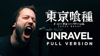 Gambar cover UNRAVEL (FULL version - Tokyo Ghoul OP) - English opening cover by Jonathan Young