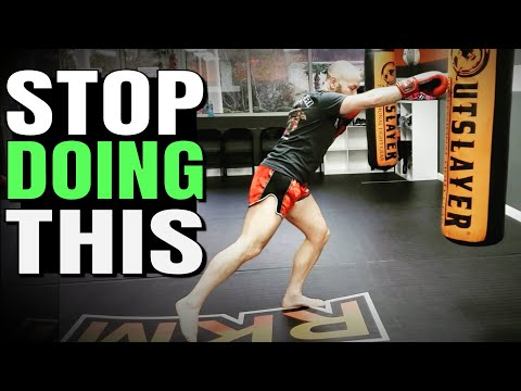 The Most Common Mistake Beginners Make in Boxing, Kickboxing, MMA and Muay Thai