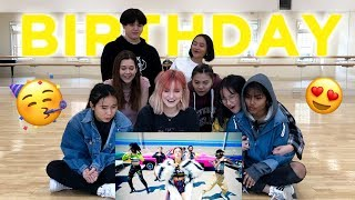[REACTION] SOMI (전소미)   'BIRTHDAY'