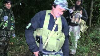 preview picture of video 'Softair a Cerveteri con i Blackside, i Delta Caere e i Red Garret'