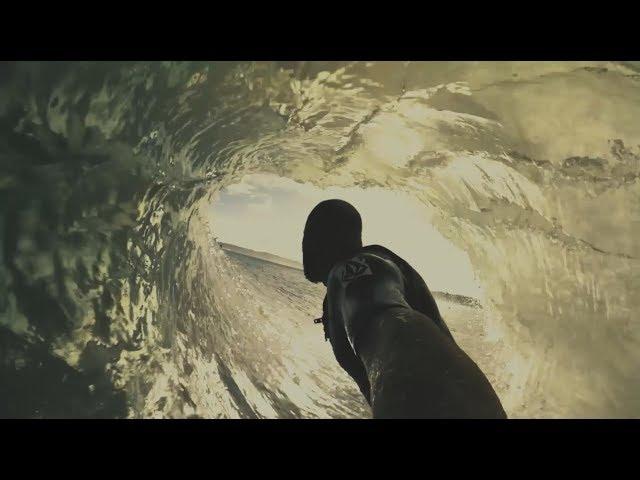Aquatic Geology (surfing in Raglan)