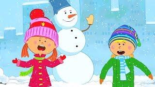 """Песни для детей - Шапку Долой! Из мультика """"Жила-была Царевна"""" - Веселая песня мультик про зиму"""
