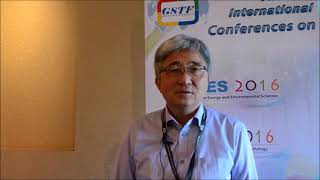 Prof. Yong Chil Seo at SEES Conference 2016 by GSTF Singapore
