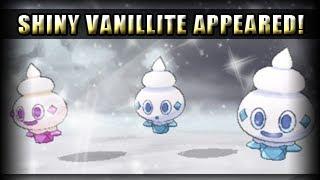 Vanillite  - (Pokémon) - Pokemon X and Y Shiny Hunt - Shiny Vanillite Appeared!