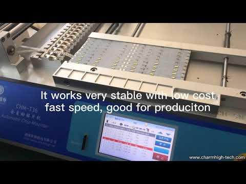 Automatic SMT Pick & Place Machine, CHMT36