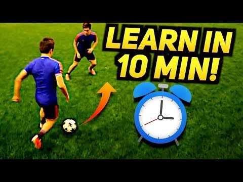 Learn CRAZY Skill In 10 MINUTES! Amazing Street Football Tutorial ★