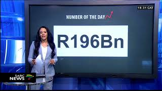 #MarketSense NUMBER OF THE DAY: R196 billion