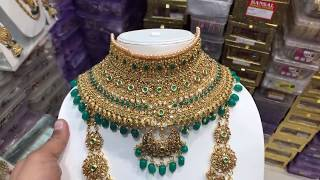 Green Bridal Jewellery @2060/-,5-2-20,COD AVAILABLE
