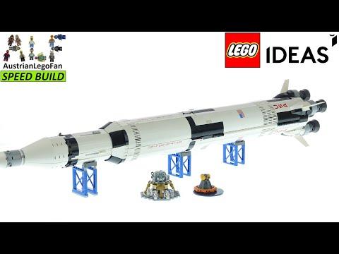 Vidéo LEGO Ideas 92176 : NASA Apollo Saturn V