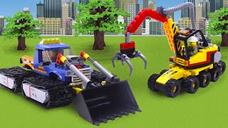 Experimental and Police Cars for kids | Compilation