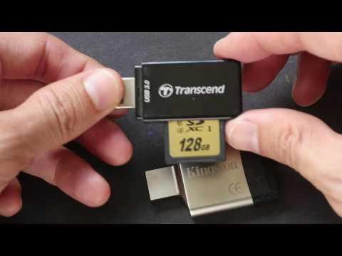 Transcend & Kingston Mobilelite G4 SD Card Reader Review