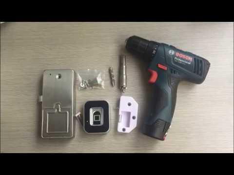 GROW G10 G11 Fingerprint Cabinet Lock For Office Home Gym Safe