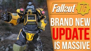 Fallout 76 Just Got One of It's Biggest Updates So Far