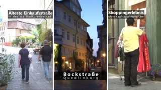 preview picture of video 'Die Bockstraße in der Unesco Weltkulturerbestadt Quedlinburg.'