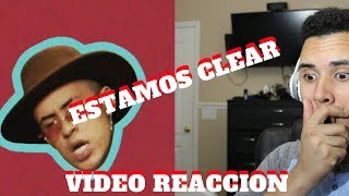 Estamos Clear - Miky Woodz feat Bad Bunny | Reaccion