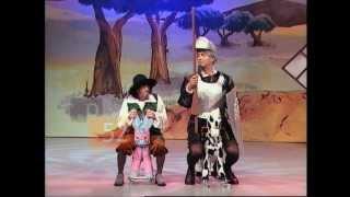 EL DESTORNILLADOR - El Dúo Sacapuntas y El Quijote