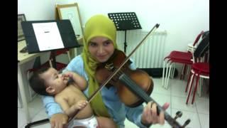 Isabella 1998 - Amy Search, Zamani, Saleem & Jamal Abdillah ( Violin cover by Endang Hyder )