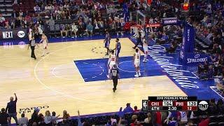4th Quarter, One Box Video: Philadelphia 76ers vs. Chicago Bulls