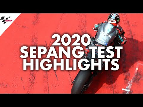MotoGP2020 セパンテストハイライト動画