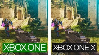 Halo 2 Anniversary | ONE vs ONE X | 4K Graphics Comparison | Comparativa