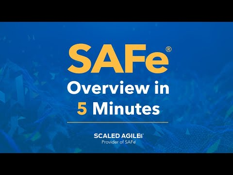 SAFe 5.0 Overview in Five Minutes - YouTube