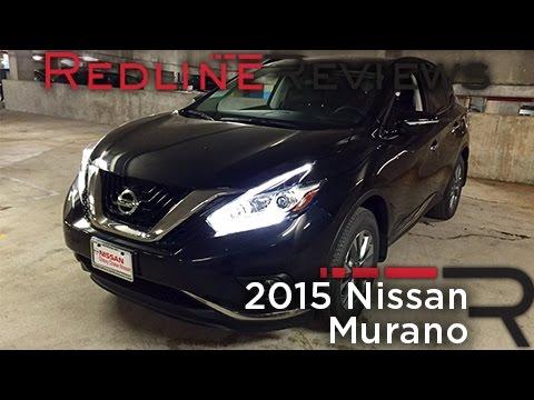 2015 Nissan Murano – Redline: Review