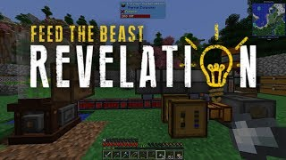 Lets Play Feed The Beast Revelation - Easy Quarry (4) - Most