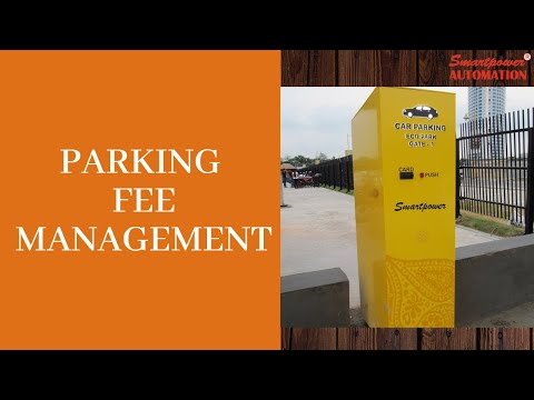 Wired Parking Fee Management System