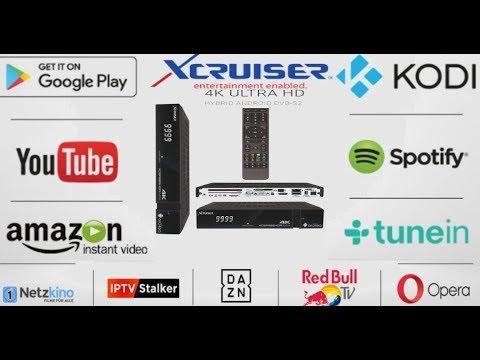 Xcruiser Satellite 4k Ultra HD Android Receiver Price in Pakistan