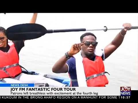 Joy FM Fantastic Four Tour - News Desk on Joy News (2-4-18)