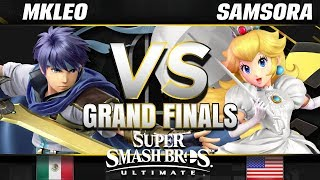 FOX MVG   MkLeo (Ike) vs eU   Samsora (Peach) - Ultimate Grand Finals - SC United